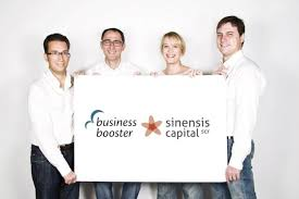 Business Booster y Sinensis Seed Capital