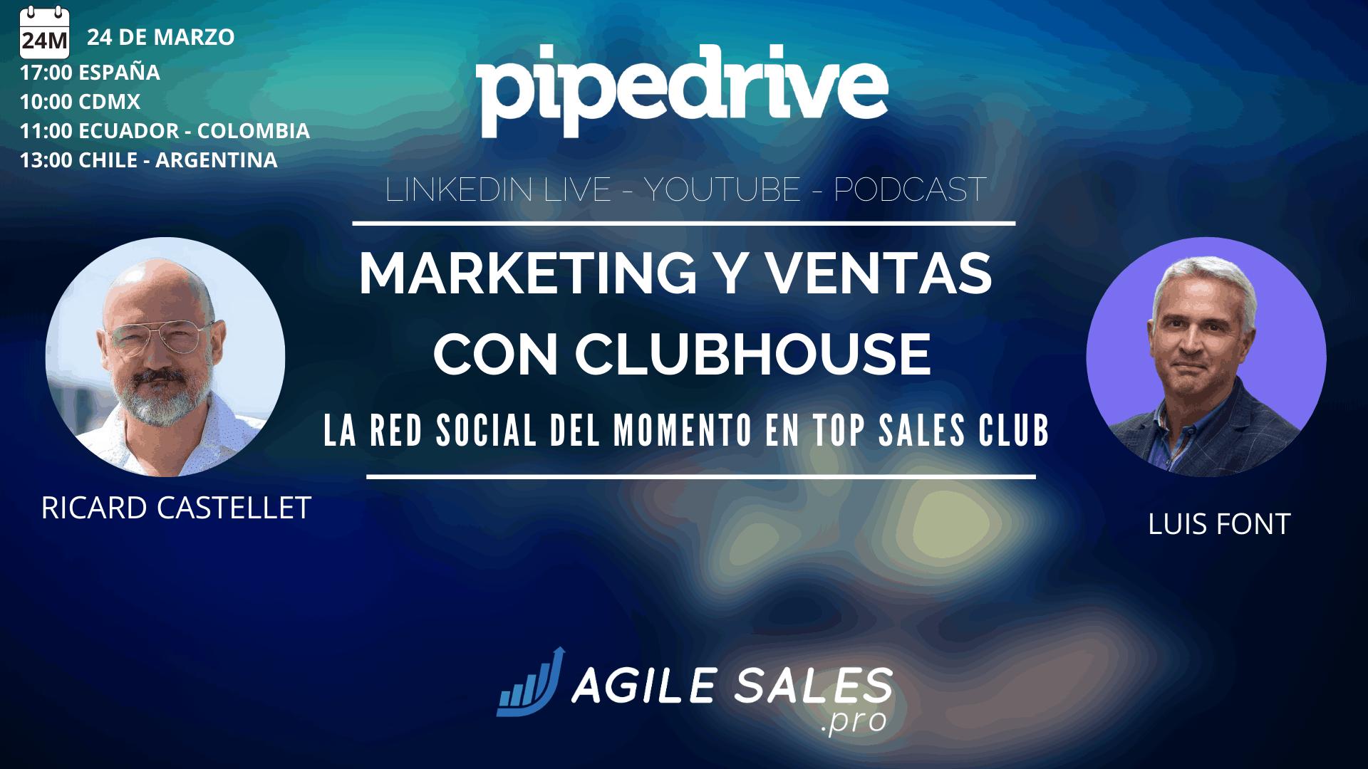 Marketing y ventas con Clubhouse